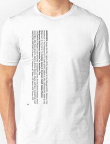 ingredients: (Smoker's version) T-Shirt