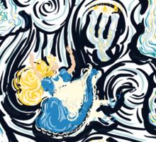 Alice's Fall Sticker