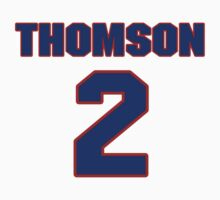 NHLS00208 Hockey player Jimmy Thomson jersey 2 by imsport