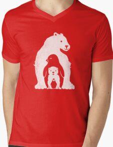 Arctic Friends Mens V-Neck T-Shirt