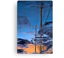 Puddled Canvas Print