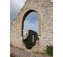 Ruined church in somerset - 1 Photographic Print