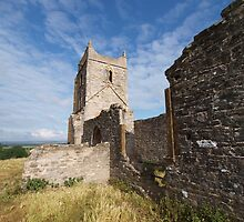 Ruined Church in Somerset - 3 by kalaryder
