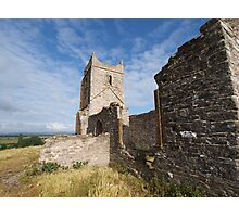 Ruined Church in Somerset - 3 Photographic Print