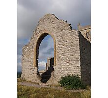 Ruined Church in Somerset - 5 Photographic Print