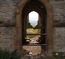 Ruined Church in Somerset - 6 by kalaryder