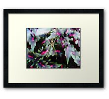COLOURFUL WORKPLACE Framed Print