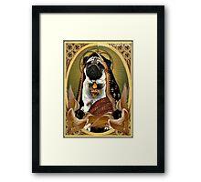 holy fawn Framed Print