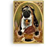 holy fawn Canvas Print