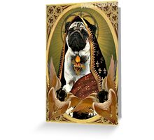 holy fawn Greeting Card