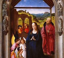 'Birth of Christ' by Dieric Bouts by Legacy1Gallery