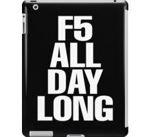 F5 iPad Case/Skin