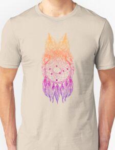 Dreamy Owl_Multi Pink Unisex T-Shirt