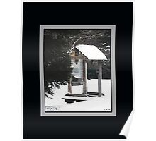 Freezing Lone Shelter (Print/Wall Art) Poster