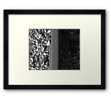 Unsecured Framed Print