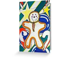 Gingerbread Holiday Design Greeting Card