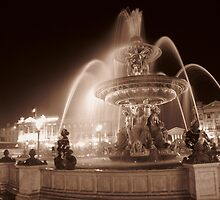 Place De La Concorde by Micah Sampson