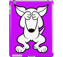 English Bull Terrier Hide  iPad Case/Skin