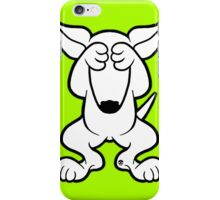 English Bull Terrier Hide  iPhone Case/Skin