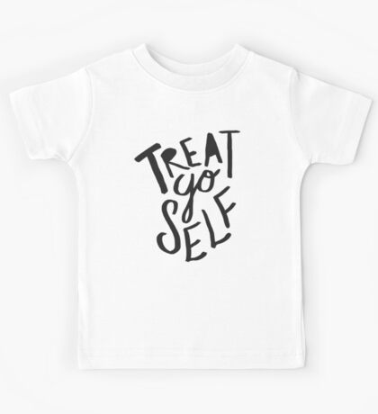 Treat Yo Self: Holiday Edition Kids Tee