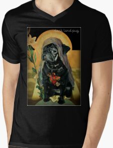 holy black Mens V-Neck T-Shirt