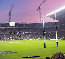 Twickenham at sunset by Vanessa Combes