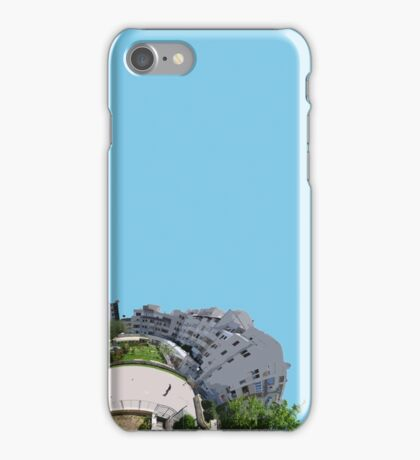 Earth building iPhone Case/Skin
