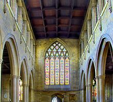 St Marys Church Melton Mowbray by Trevor Patterson