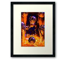 Lunar Man Framed Print