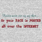 Please move out of my shot--Or your FACE is posted all over the INTERNET! by John  De Bord Photography