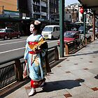 On her way to the geisha school by Robyn Lakeman