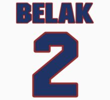 National Hockey player Wade Belak jersey 2 by imsport