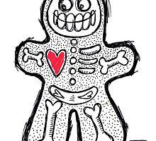Spooky Gingerbread  by Lizz de Savoye