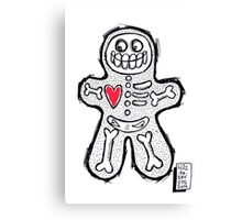 Spooky Gingerbread  Canvas Print