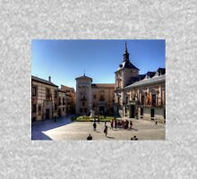 Plaza de la Villa, Madrid Zipped Hoodie
