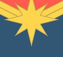 Captain Marvel: Carol Danvers by peopleinspandex