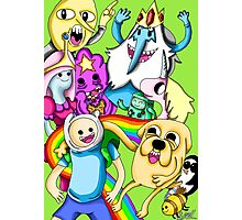Adventure Time! Photographic Print