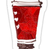OMG RED CUPS Sticker