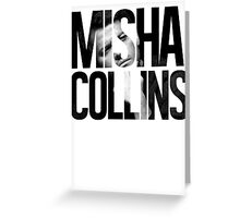 Misha Collins Greeting Card