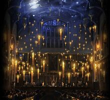 Hogwarts Great Hall by Serdd