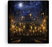 Hogwarts Great Hall Canvas Print