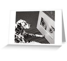 Art Student Greeting Card