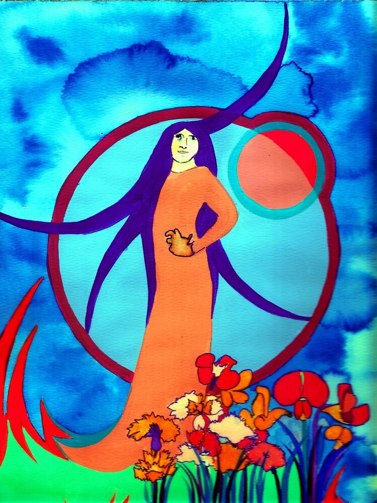Spirt Lady by Jamie Winter-Schira