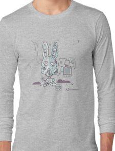 Robot Bunny Long Sleeve T-Shirt
