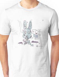 Robot Bunny Unisex T-Shirt