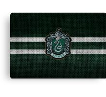 Slytherin Knitted Canvas Print
