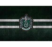 Slytherin Knitted Photographic Print
