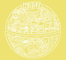 Hope for a Death Star Wars Baby Tee
