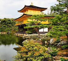 Kinkakuji (Golden Pavillion) Japan by Robyn Lakeman