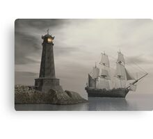 Passing Last Point Home Canvas Print